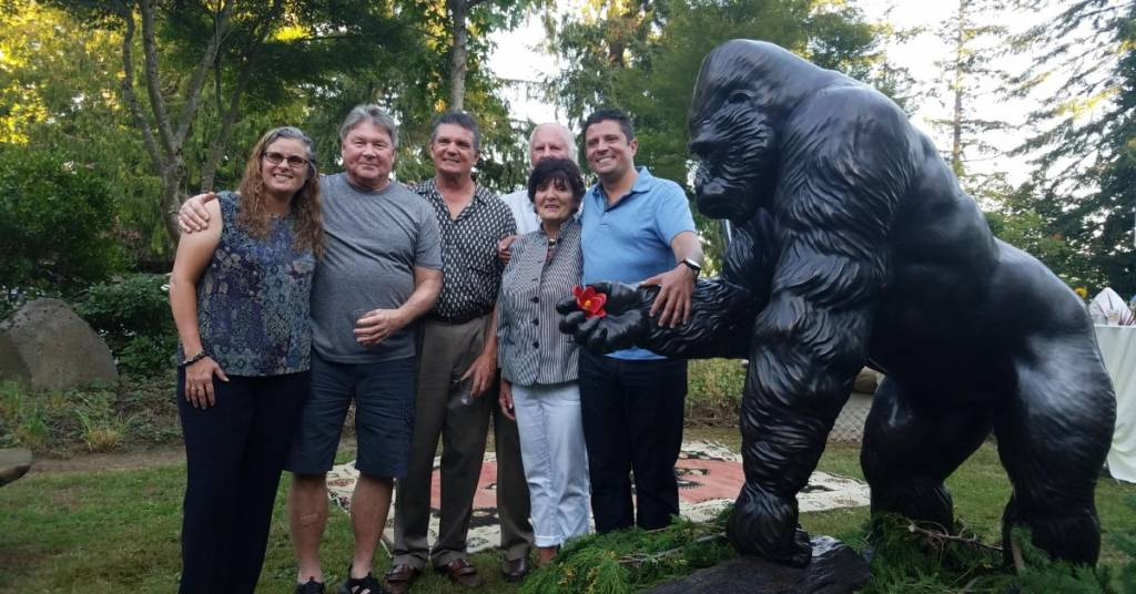 Our story: Ivan the Gorilla and family
